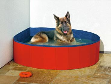 Doggy Pool Blau - Rot
